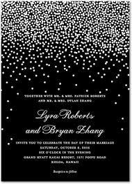 black and white invitations winter snowflake wedding invitations mid south