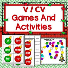 v cv cv v cv syllable open activities segmenting word work