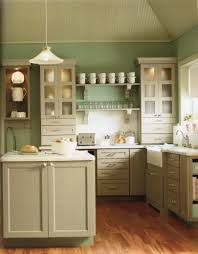 kitchen green and white bone kitchen kabinet green wall paint
