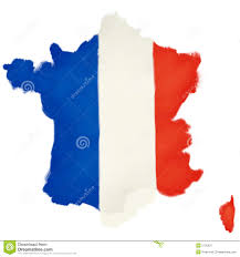 Frebch Flag French Flag Shaped As France Stock Illustration Image 5735321