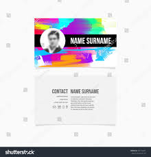 elegant images of virtual business card template business cards