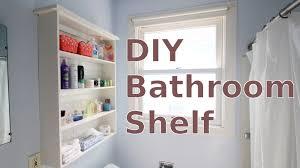 bathroom shelves ideas bathroom building a diy bathroom wall shelf for less than 20