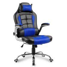 Gamer Computer Desk Merax High Back Pu Leather Office Chair Executive Racing Gaming