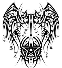 female angel warrior tattoo graphic in 2017 real photo pictures