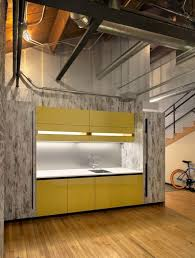 kitchen office ideas kitchen attractive modern yellow office kitchen with glossy