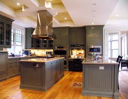 two islands in kitchen home