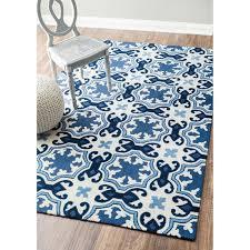 modern blue white rug products bookmarks design inspiration