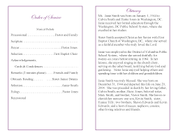 Programs For Memorial Services Samples 100 Program For Funeral Service 100 Funeral Announcement
