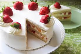 Decorative Ways To Cut Strawberries Strawberry Shortcake Recipe U2013 Japanese Cooking 101
