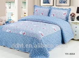 Patchwork Comforter Rose Heart In Shining Blue Patchwork Bedding Sets Patchwork