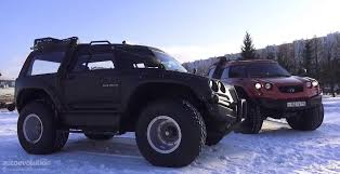 jeep russian the viking 29031 is an amphibious monster truck from russia video