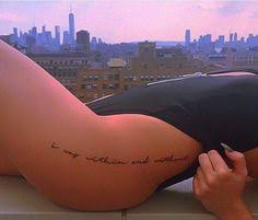 vertical quote hip by hectordanielsnyc at bangbangtattoos