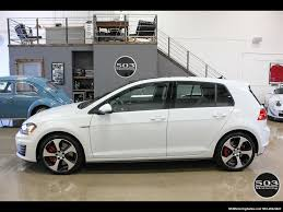 volkswagen 2017 white 2017 volkswagen golf gti se white black w only 2k miles