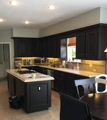 take your kitchen cabinets to the ceiling designed before short upper cabinets with furr down above