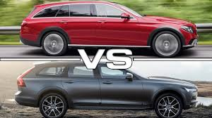 mercedes cross country 2017 mercedes e class all terrain vs 2017 volvo v90 cross country