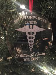 doctor gift graduation christmas ornament nurse christmas