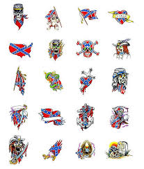 rebel flag tattoo designs in 2017 real photo pictures images