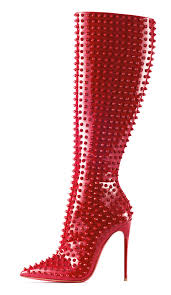 christian louboutin pair of bespoke boots holy grails of design