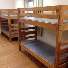 Wooden Bunk Beds  Metal Bunk Beds Camping Bunk Beds - Metal bunk bed ladder