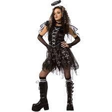 Angel Costume Halloween Dark Angel Halloween Dress Role Play Costume Walmart