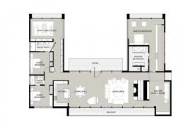 Modern House Floor Plans With Pictures Best 25 U Shaped Houses Ideas On Pinterest U Shaped House Plans