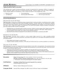 Sample Tax Accountant Resume by Sample Resume Of General Accountant Templates