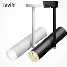 commercial track lighting systems 5w 7w 10w 12w decorative cob led track light for commercial lighting