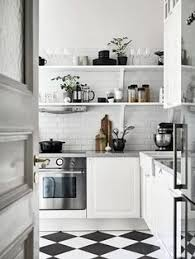 black and white kitchen decorating ideas the bold black and white stripes is a style i