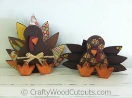 sitting turkey crafty wood cutouts