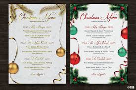 christmas cocktails invite 7 xmas menus 7 invitations bundle thats design store