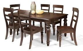 cherry dining room set dining set add an upscale look with dining room table and chair