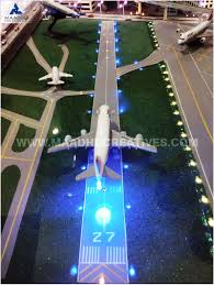 model airport runway lights scale model professional model making company india maadhu creatives