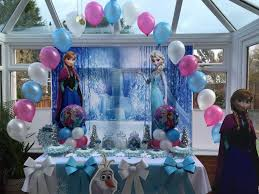 frozen party frozen decorations best 25 frozen birthday decorations ideas on