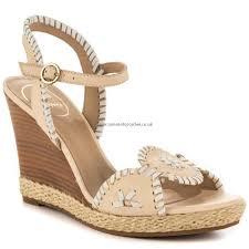 bone jack rogers clare wedge sandals wonderful