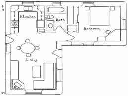 simple house plans l shaped bungalow by l shap 4201 homedessign com