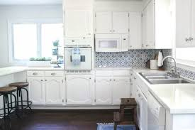 gray kitchen cabinets white appliances bright white kitchen makeover on a budget lovely etc