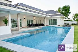 huge private modern stylish 3 bed pool villa for short term rent