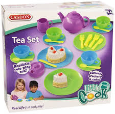 Toy Kitchen Set Food Kids Toy Tea Set Children Kitchen Play Food Skills Pretend Cook