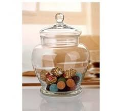 clear glass canisters for kitchen decorative glass jars with lids decor