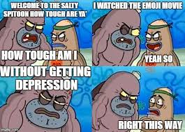 Salty Spitoon Meme - welcome to the salty spitoon emoji movie imgflip