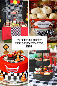 party ideas 17 colorful disney cars party ideas for kids shelterness