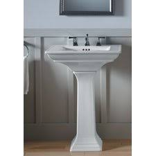 Bathroom Pedestal Sink Ideas Small Pedestal Sinks Best Home Furniture Ideas