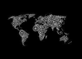World Map T Shirt by World Of Bike By Matt Hoch Threadless
