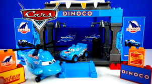 mega bloks disney cars movie toys video dinoco mainan cars