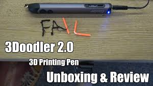 3doodler news reviews and more 3doodler 2 0 unboxing u0026 review youtube