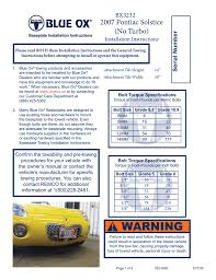 100 blue ox 2008 dinghy towing guide dodge durango jeep