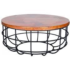 hammered drum coffee table australia coffee addicts