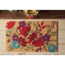 Rugs From Walmart Pioneer Woman Timeless Floral Hook Rug Walmart Com Sprinkles