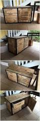 Wood Pallet Furniture Top 25 Best Pallet Cabinet Ideas On Pinterest Pallet Kitchen
