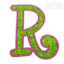 beautiful letter r monogrammed cushion by minimanna on etsy